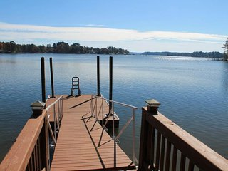 NEW LISTING! Lakefront and dog-friendly home w/ dock, gazebo, and lake views!