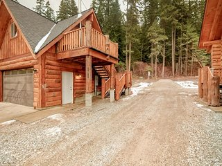 NEW LISTING! Newly built cabin-style retreat w/wood stove and forest views