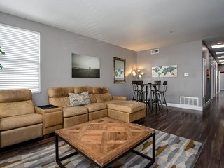 NEW LISTING! Spacious and modern condo with A/C & rooftop deck, near surfing!