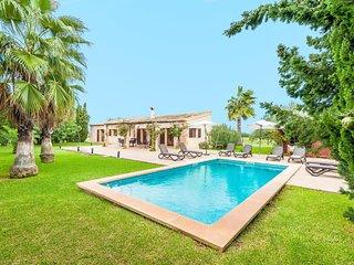 Spacious villa in Felanitx with Parking, Internet, Washing machine, Air conditio