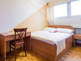 Cozy room close to the center of Dolenjske Toplice with Parking, Internet, Air c