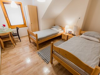 Cozy room in Krško with Parking, Internet, Terrace