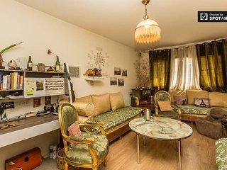 Chambre privee dans appartement cosy au Parc des buttes chaumont