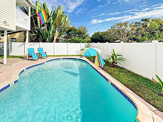 Spacious 4BR w/ Resort-Style Backyard: Private Pool, Grill & Alfresco Dining