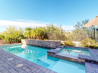 NEW LISTING! Luxury home w/pool, hot tub & home theater-near golf/dining
