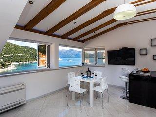 Apartment Mali Skoj - Two-Bedroom Apartment with Sea View