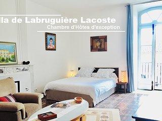Chambre d'hôtes Master Suite - Villa de Labruguière Lacoste