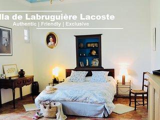 Chambre d'hôtes Provencal Room - Villa de Labruguière Lacoste