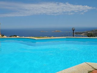 Villa Lara 2 sleeping up to 9 in Emerald Coast with private pool and sea view
