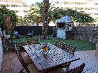 Precioso apartamento con jardin  cerca de la playa palm mar OFERTA!!