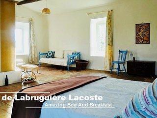 Chambre d'hôtes Attic Room - Villa de Labruguière Lacoste