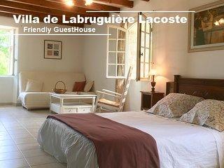 Chambre d'hôtes Garden View Room - Villa de Labruguière Lacoste