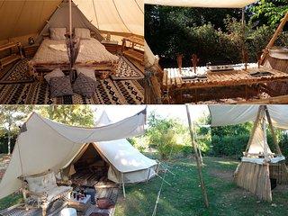 Camp tente Inuit 'Tupiq aluk' 28 m²