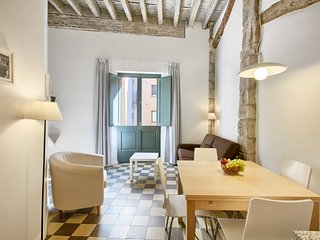 Girona Cool Apartment: 1st floor overlooking the river - old town