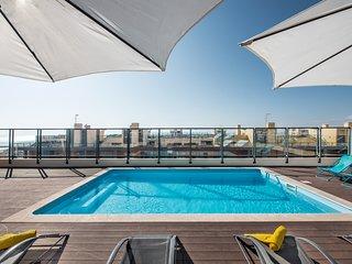 Fab 2 bed apartment,4th floor, pool air con, wifi | Apartment Dalia