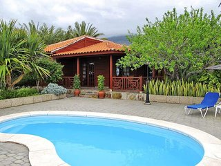 Tenerife wooden house with private pool