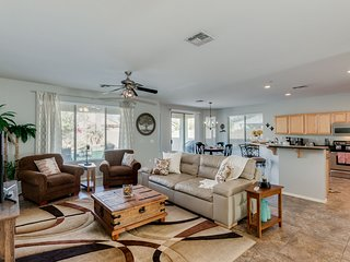 Super Clean GOLF and POOL Community Home with North Facing Amazing Backyard!