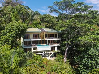 Casa Mogambo: 3-Acre Ocean View Estate in Central Manuel Antonio