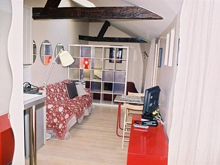 Cosy studio in the center of Paris with Internet, Washing machine