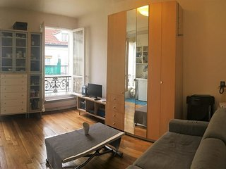 Cosy studio in Paris with Lift, Internet