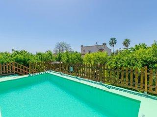 Spacious villa in Campanet with Parking, Internet, Washing machine, Air conditio