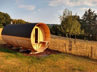 MARIE-JOSEE gezellig huis met haard, sauna binnen/buiten, Les Vergers de Thimont