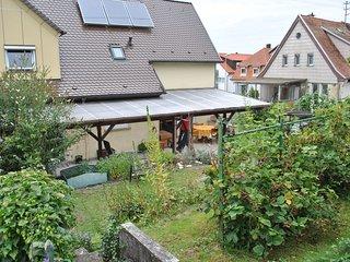Schöne Ferienwohnung in Giengen mit Terrasse und Garten - Nähe Legoland