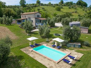 4 bedroom Villa in Giove, Umbria, Italy : ref 5604874