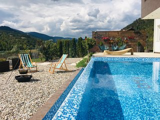Villa Drina Dream - Luxury Modern Retreat with Infinity Pool and Mountain Views