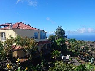 Finca Paraiso Arriba - La Palma, luxe vakantiewoning met panoramisch zeezicht