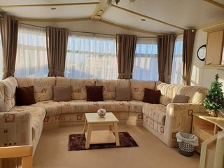 2 bed static caravan for hire at port haverigg marina village