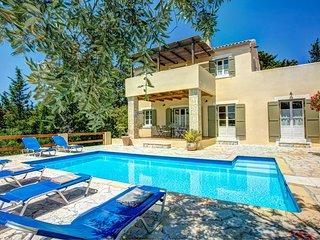 3 bedroom Villa in Khalikerí, Ionian Islands, Greece : ref 5604833