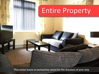 Cosy Victorian Terrace In Central Northwich Location