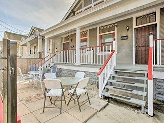 NEW! Shotgun NOLA Home w/ Patios by French Quarter