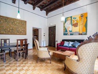 beautiful trastevere big terrace apartment