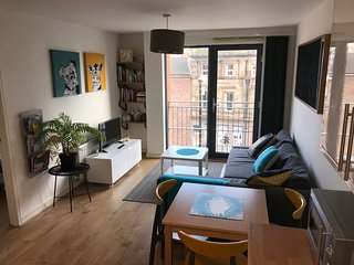 Sunny Central Apartment near Lime Street Station