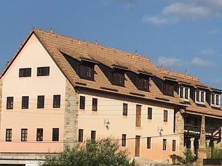 Fewo mit großem Familienbett für 2 Erw + 6 Kids bei Dresden