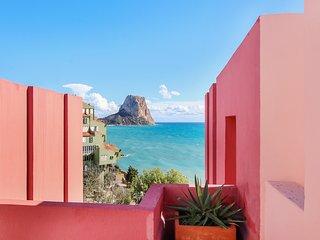 Coral Apartment in Muralla Roja, Vistas al Mar