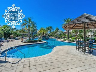 *2018 DISC* JAN/FEB OPEN! UPGRADED +Lagoon Heated Pool Near Beach +FREE Perks