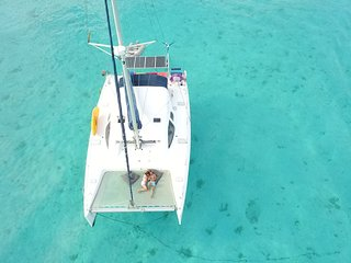 Croisiere catamaran en Polynesie