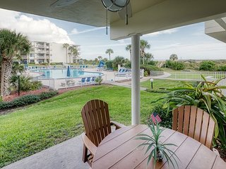 Newly Renovated Ground Floor Condo with Great Pool Access at Colony Reef Club
