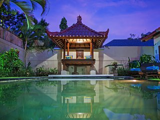 Villa Tristan Seminyak Bali | Private Pool, Balcony & Gazebo