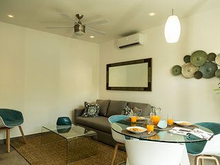 Homey 1 Bedroom up to 4 people at Aldea Zama  / Quinto Sol 06