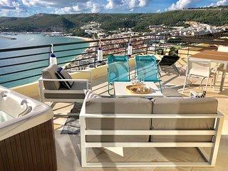 Superbe appartement vue mer, Jacuzzi grande terrasse