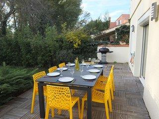 4 bedroom Villa in Saint-Cyprien-Plage, Occitania, France : ref 5703654
