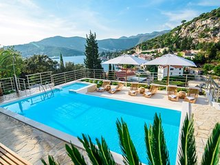 SEA VIEW VILLA WITH POOL FOR RENT DUBROVNIK AREA