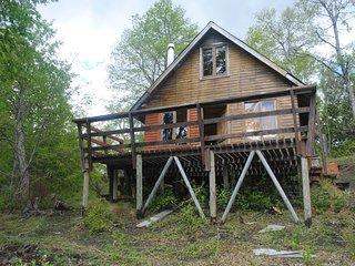 Parque Nacional Conguillio, Lago Conguillio, cabaña independiente 2 pisos