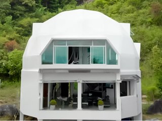 EMG-Dome Koh Phangan, Thailand. Sieview, Privacy, unique form, perfect location.