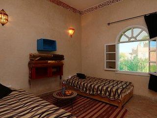 Chambre Single Ouarzazat (Villa Touka)