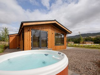 Balloch Park, luxury lodges